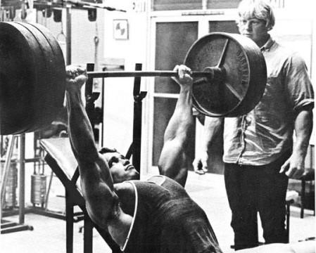 arnold schwarzenegger, incline bench press