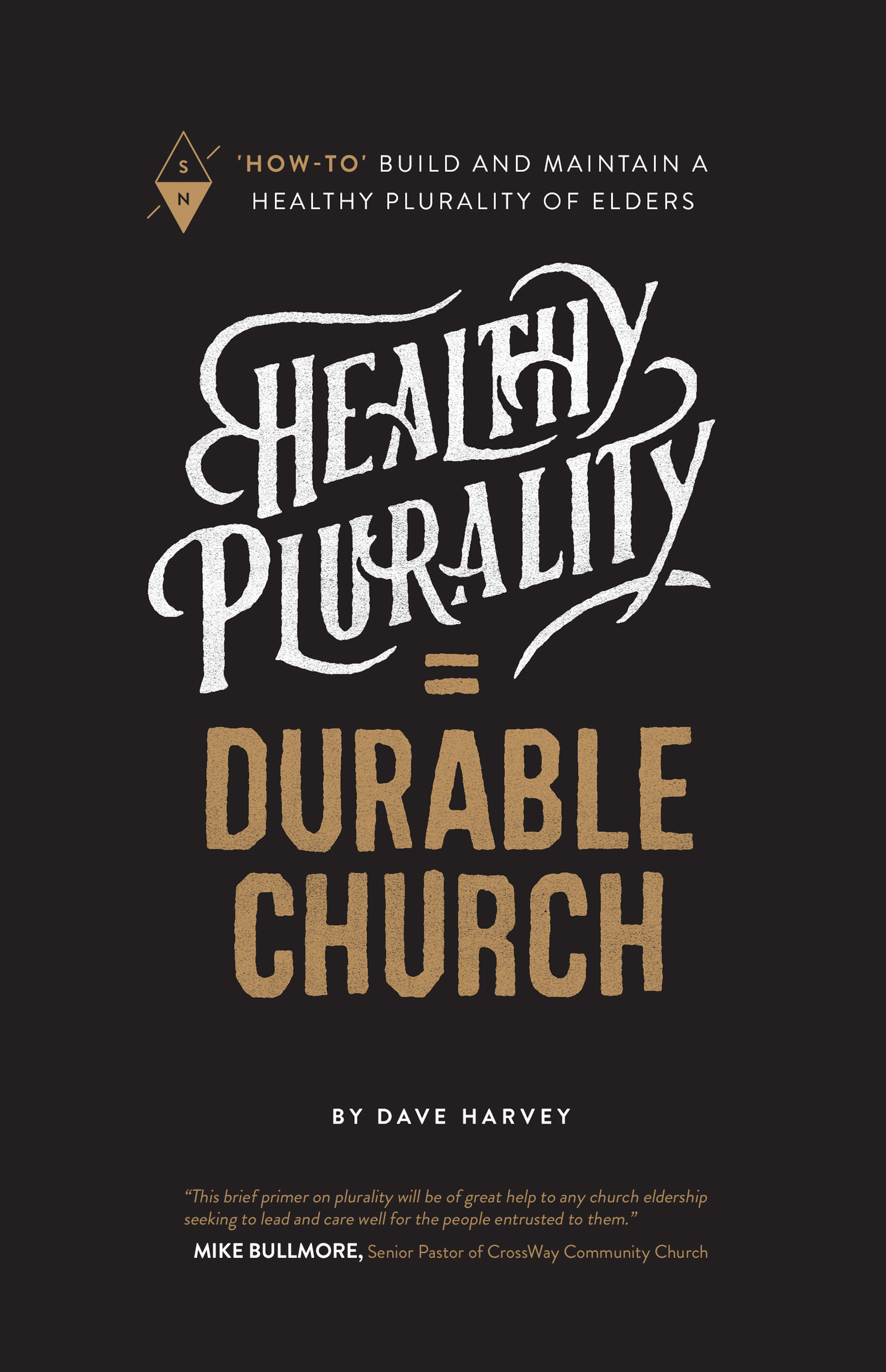 HEALTHY PLURALITY = DURABLE CHURCH by Dave Harvey (cover image).jpg