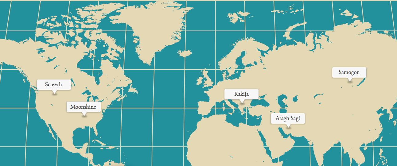 Moonshine from around the world