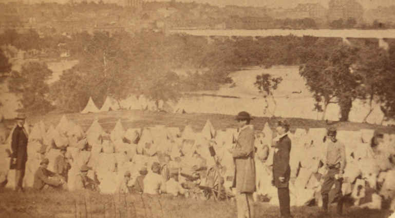 Belle Isle During the Civil War