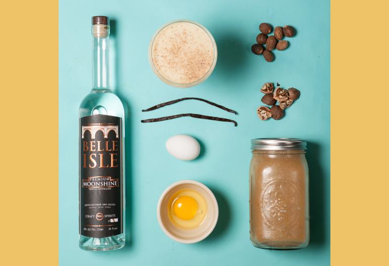 Vanilla Nutmeg Infusion Ingredients