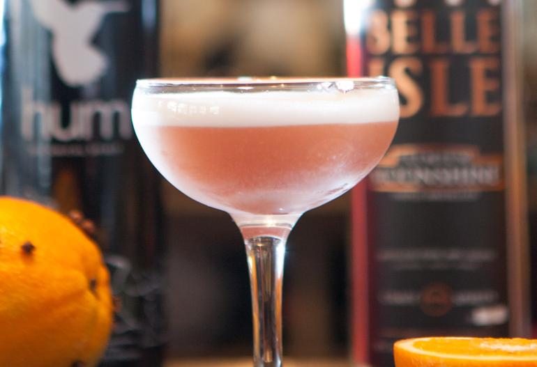 Orange Clove Infusion Cocktail
