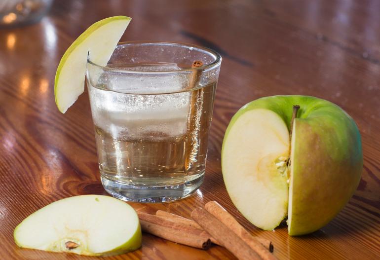 Apple Pie Infused Moonshine Cocktail