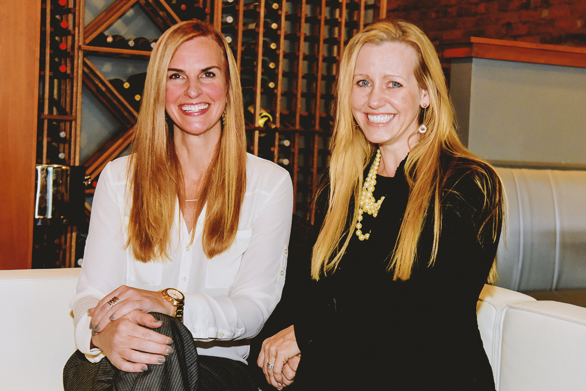 Heather Frechette (l) and Elizabeth Hunt (r), co-owners of On the Roxx and Encore Gastrolounge in Greenville, South Carolina.  All photos by  Kevin Ruck .
