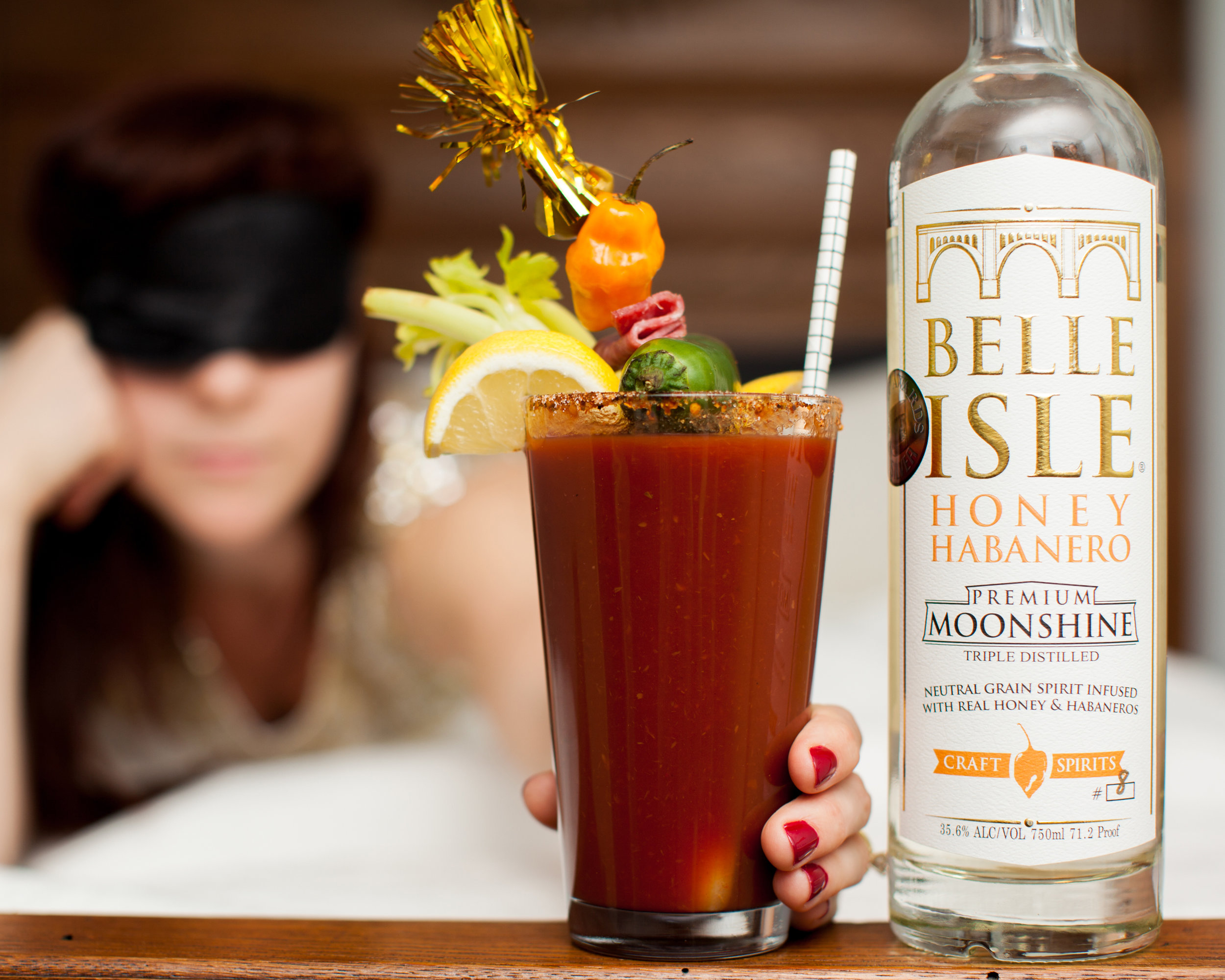Our Spicy Moonshine Mary is the cure for whatever ails you.