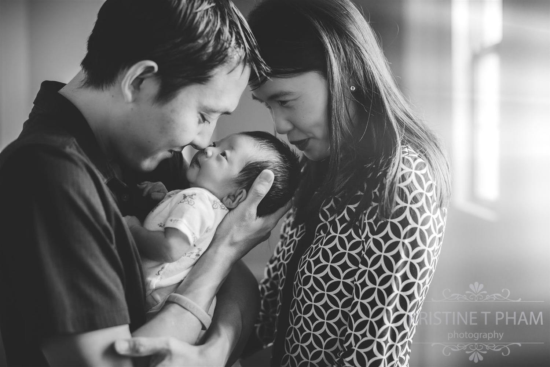 San Diego Lifestyle Newborn Photographer