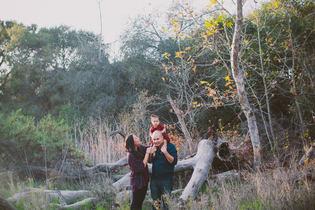 THE WALLS - HOLIDAY FAMILY SESSION IN SAN DIEGO