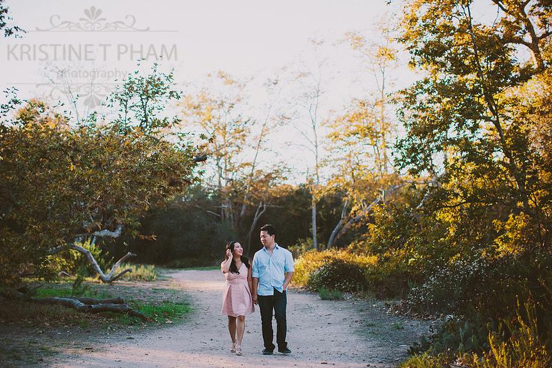 PHUONG & SEAN'S SAN CLEMENTE PARK ENGAGEMENT SESSION