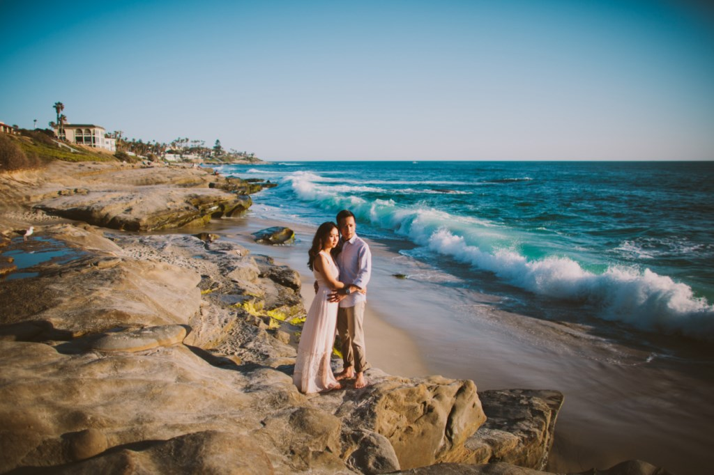 Joan & Edward's La Jolla Engagement Session