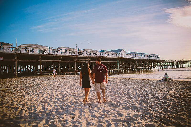 JAN & STEVE'S PACIFIC BEACH ENGAGEMENT SESSION