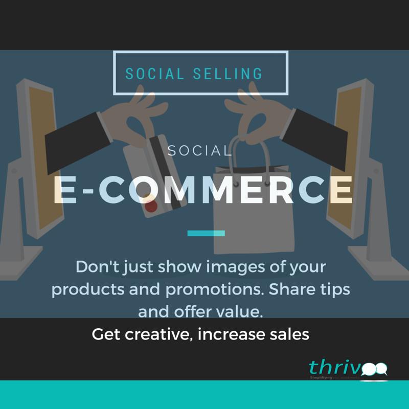 SOCIAL SELLING E-COMMERCE