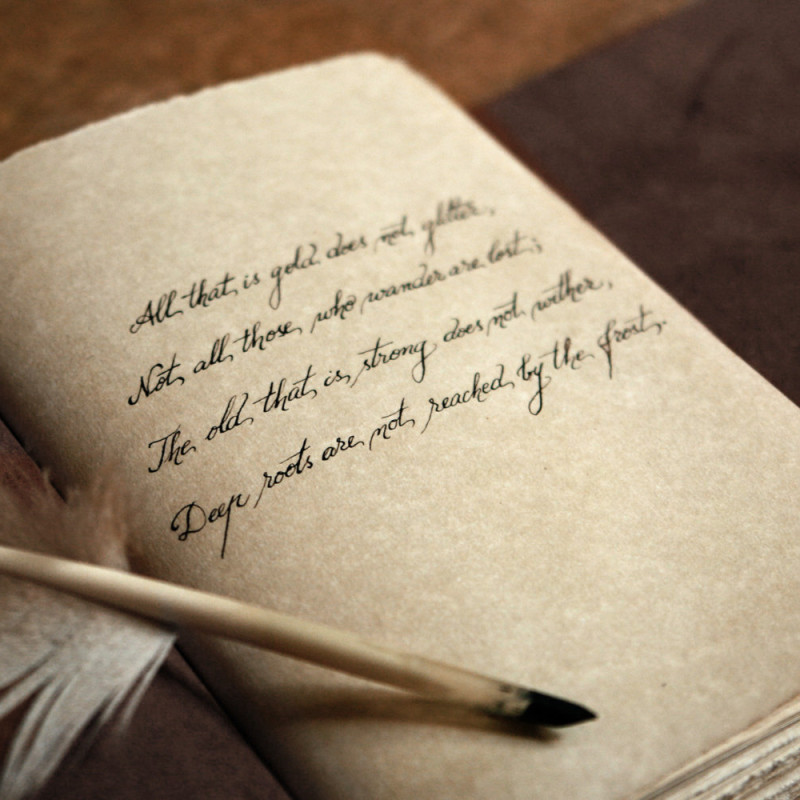 Write your 'obituary' in two different ways... -