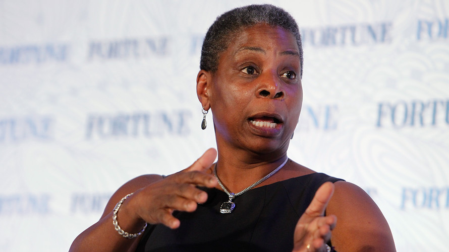 Former Xerox CEO Ursula Burns. Her 2016 departure means there are currently no black female CEOs running Fortune 500 companies.