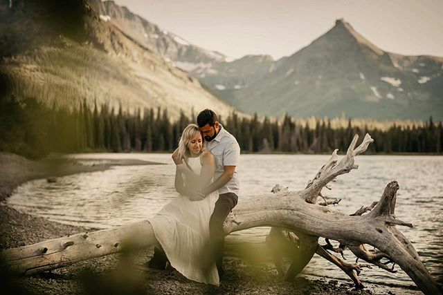 Who wants to elope in Glacier NP??! Bring us along! @sarah.coba @antnybarry