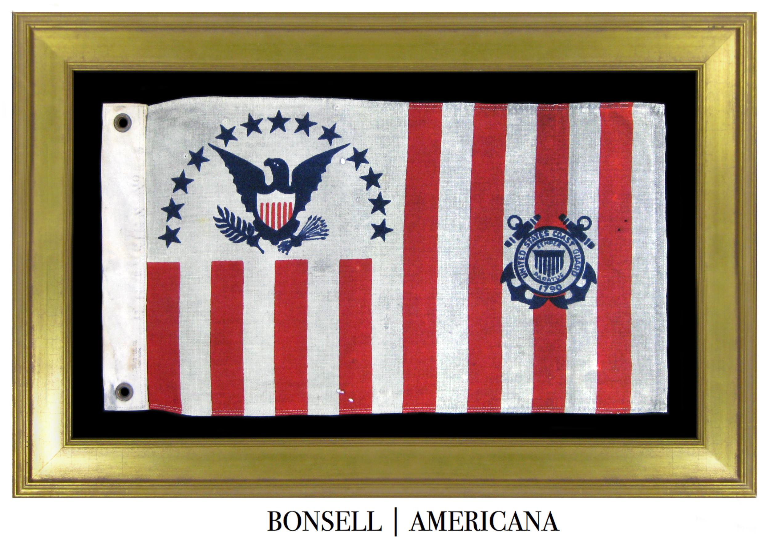 Antique Coast Guard Flag