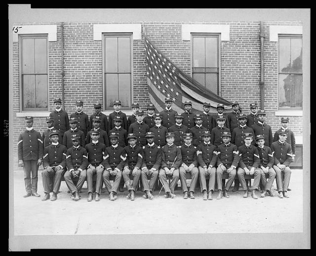 Cadets at Haines Normal and Industrial Institute, August, George | Circa 1899