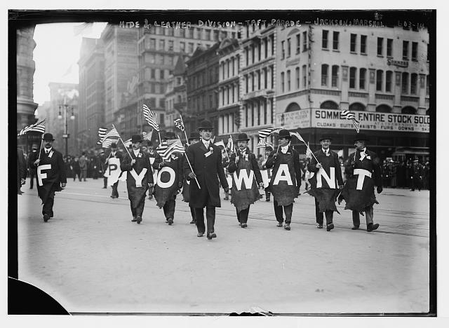 Parade in New York | Circa 1908