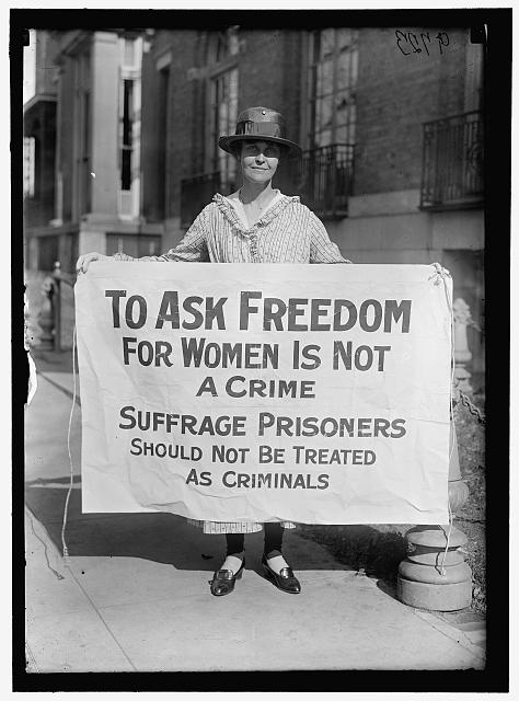 Women's Suffrage Banner | Circa 1917