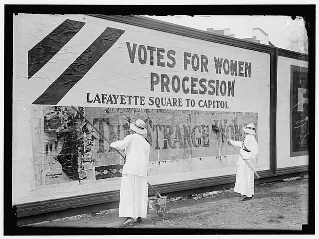 Women's Suffrage Posters | Circa 1914