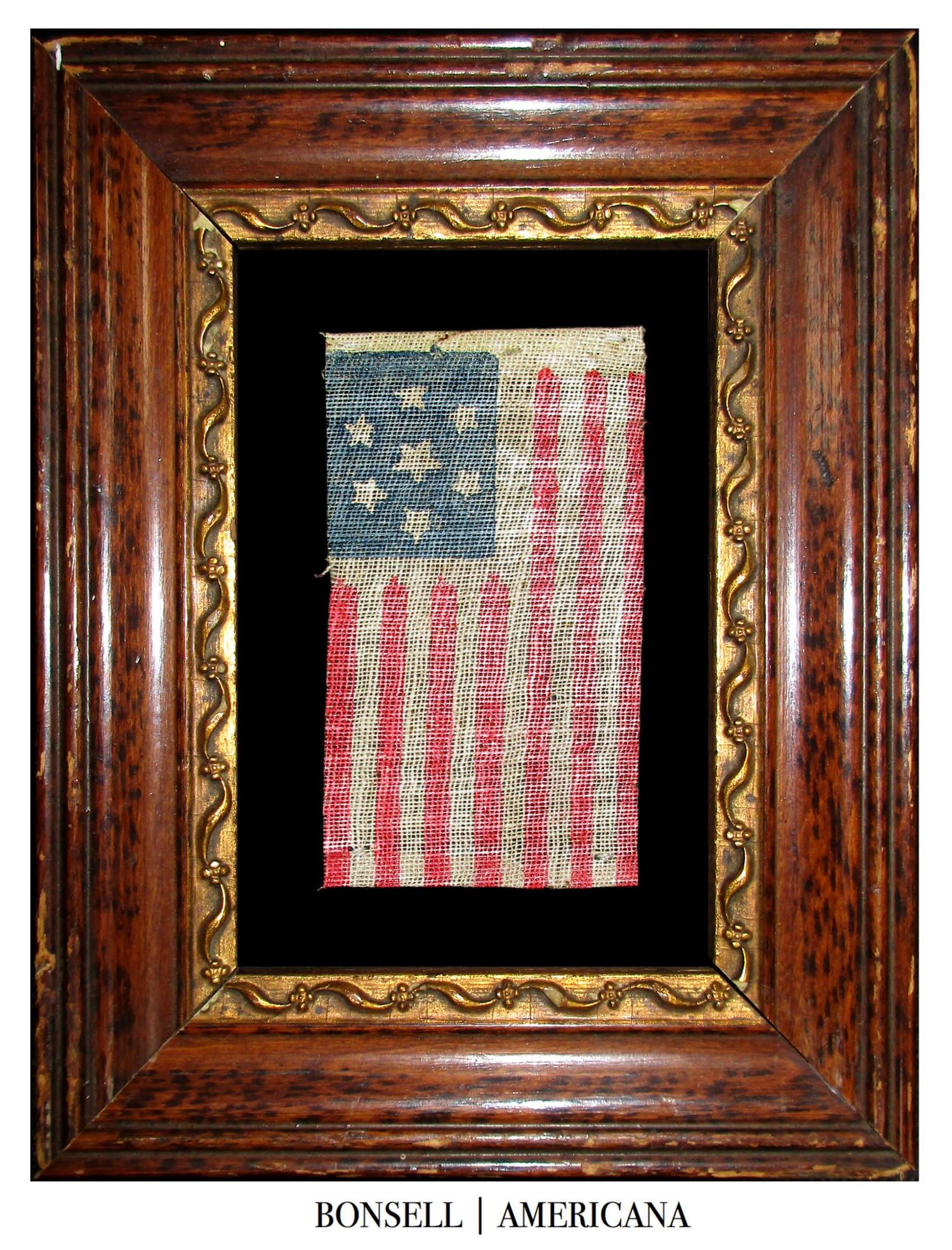 7 Star Antique US Flag