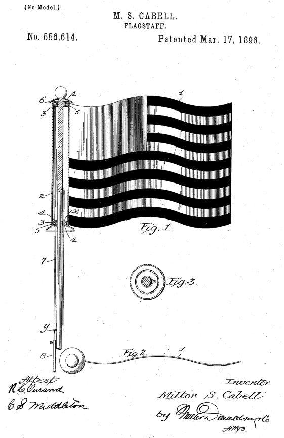 US556,614 | Flagstaff | Circa 1896