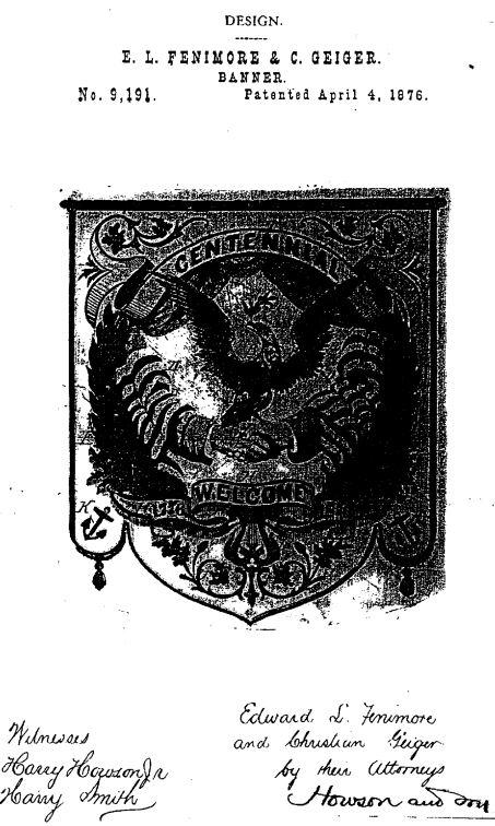 USD9,191 | Design for a Banner | Circa 1876