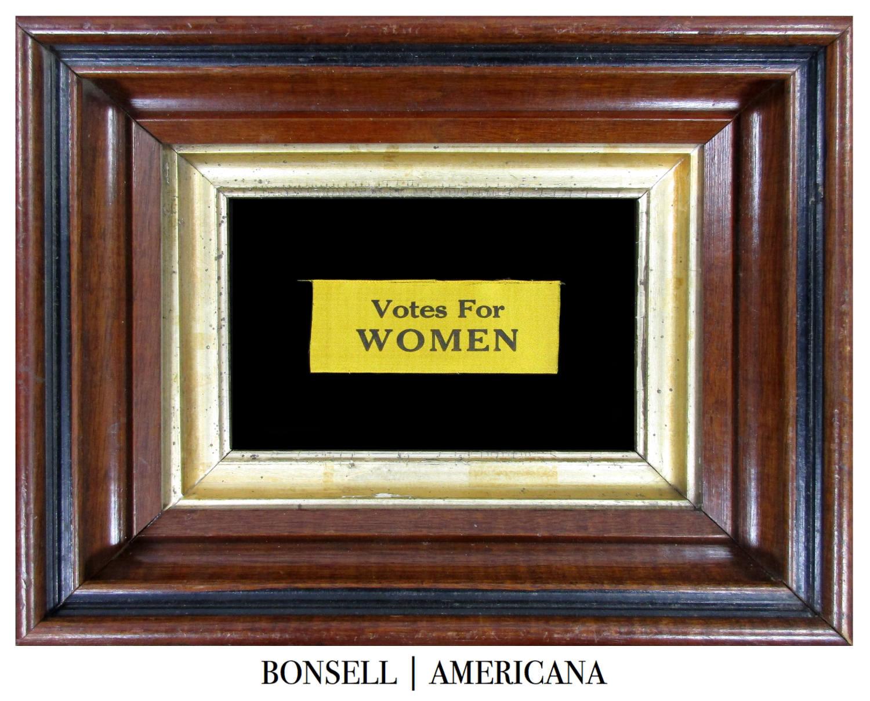 Antique Votes for Women Ribbon