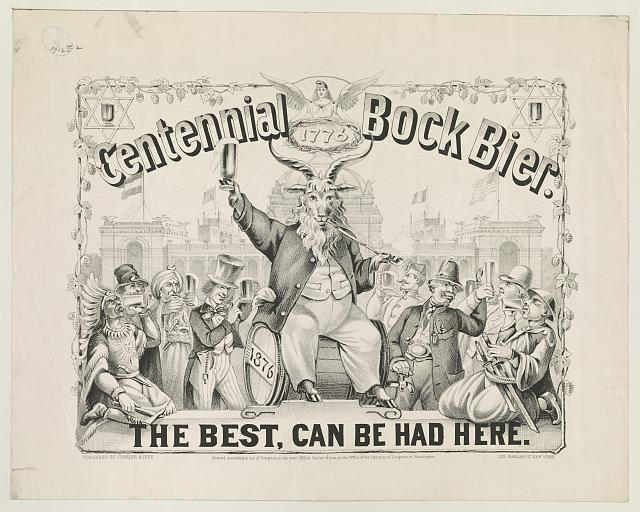 Centennial Bock Bier - The Best Can Be Had Here | Circa 1876