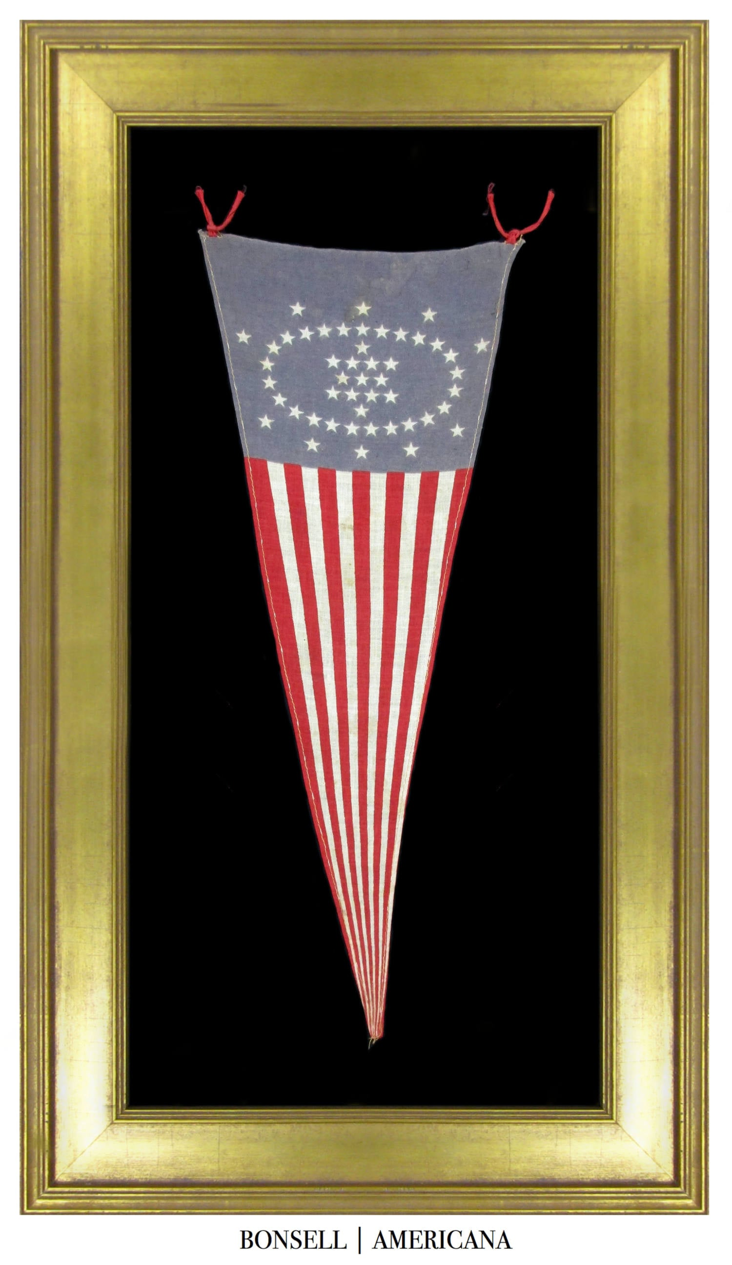 48 Star Antique Whipple Pennant