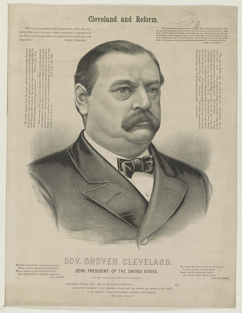 Cleveland and Reform   Circa 1885