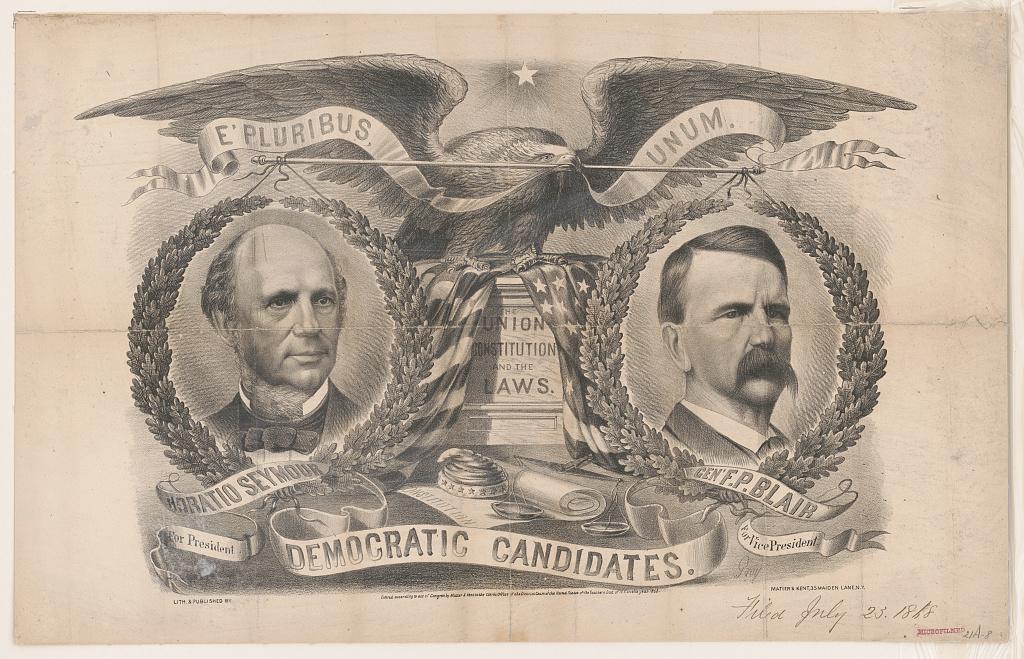 Democratic Candidates   Circa 1868