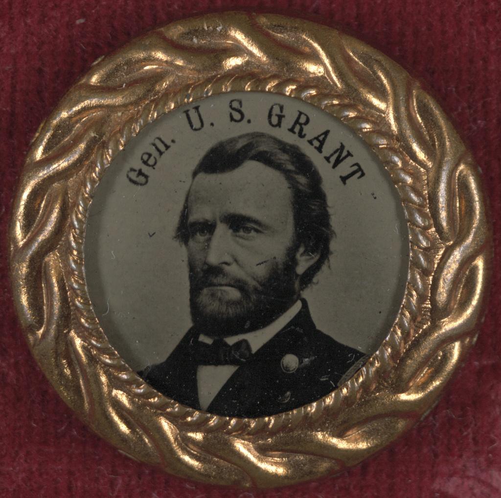 General Grant Campaign Button   Circa 1868