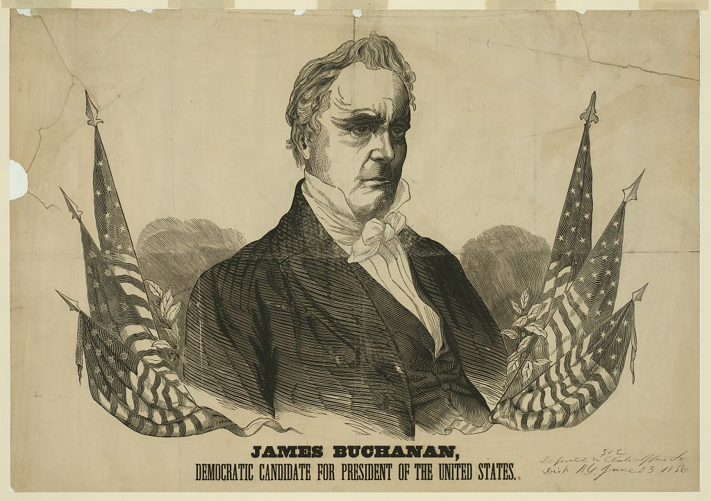 James Buchanan for President of the United States | Circa 1856