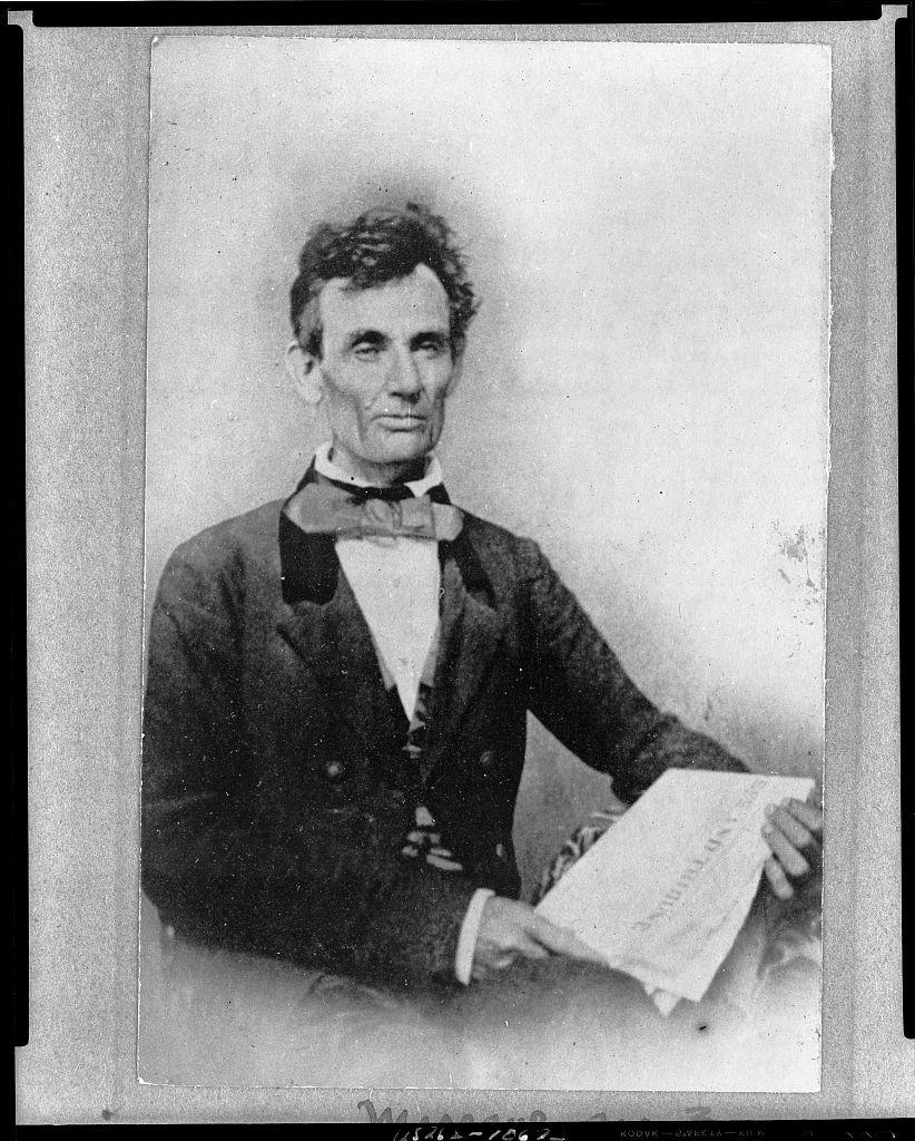 Lincoln Campaigning for US Senate in Chicago   Circa 1854