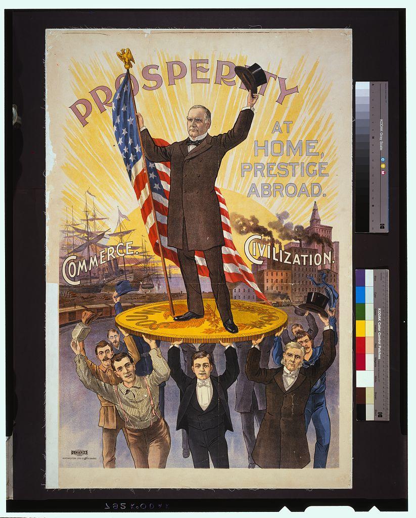 Prosperity at Home, Prestige Abroad   Circa 1895