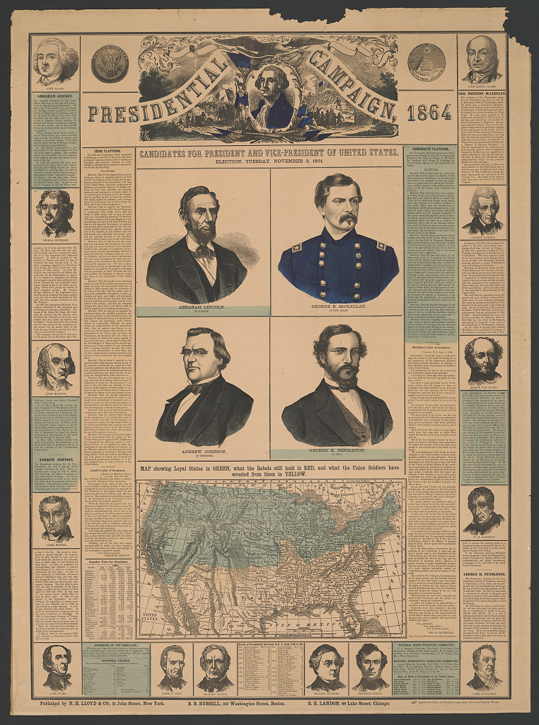 Presidential Campaign Candidates | Circa 1864