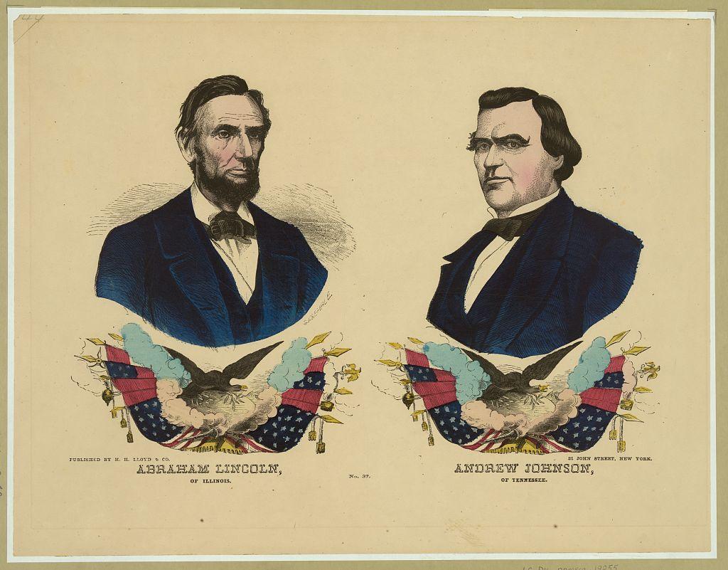 The Republican Ticket   Circa 1864