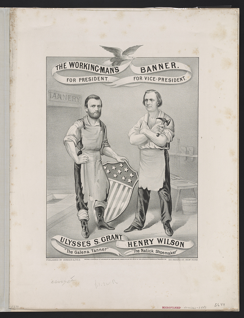 The Working Man's Banner | Circa 1872