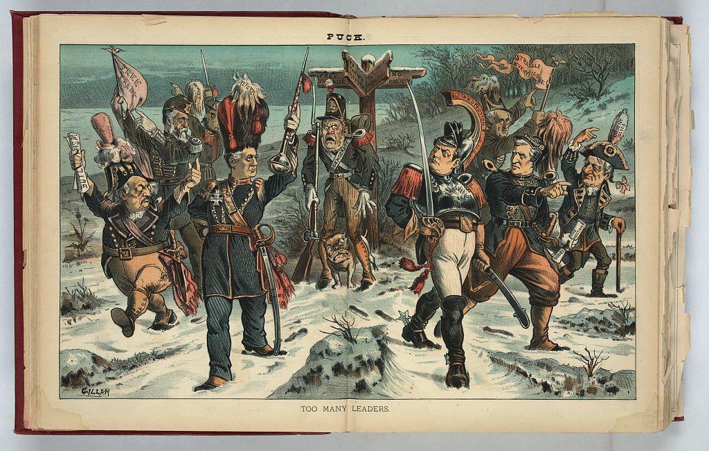 Too Many Leaders   Circa 1884