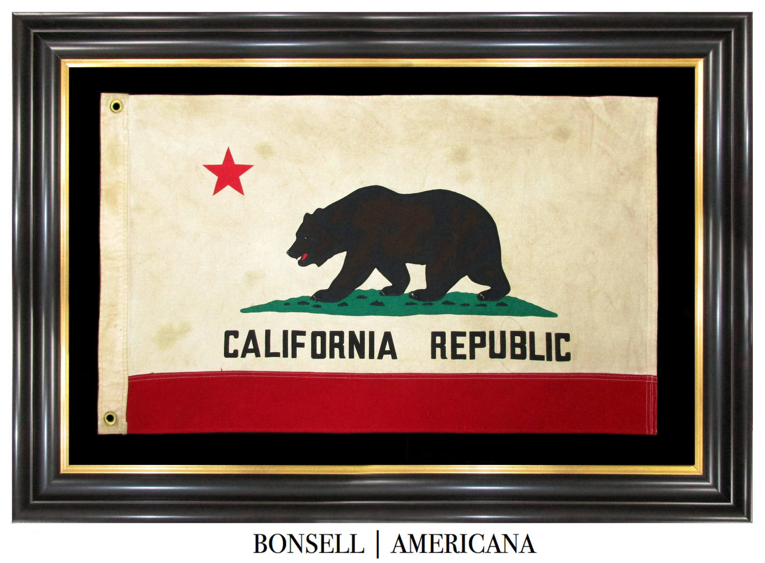 Coming Soon: Vintage California Flag