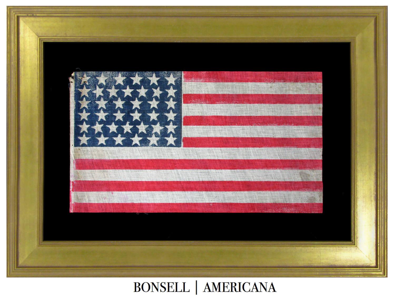 38 Star Antique US Flag