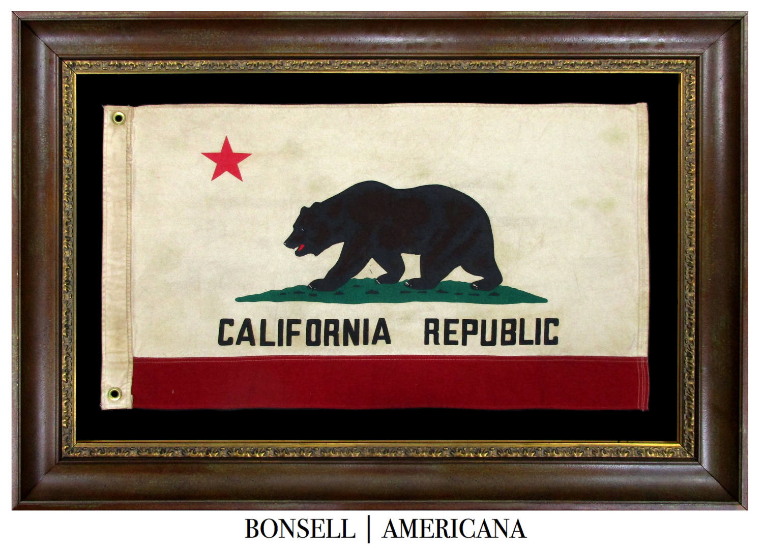 Vintage California Bear Flag