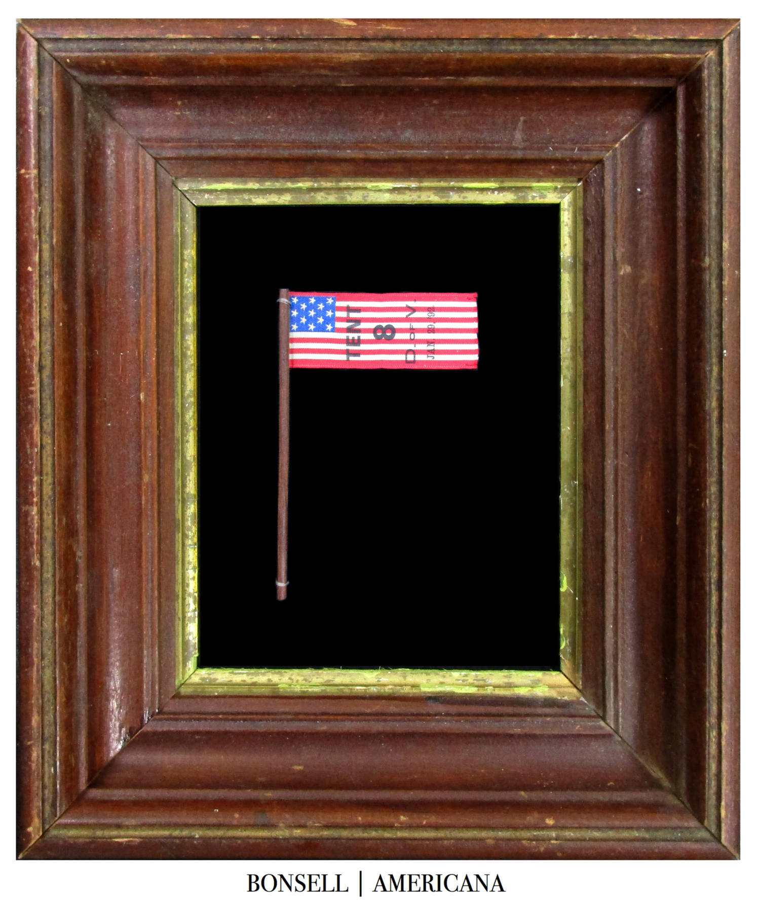 13 Star Antique Parade Flag | Made for the Daughters of Union Veterans