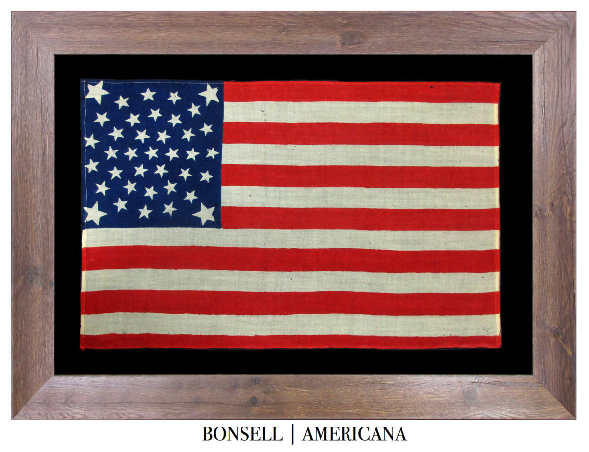 38 Star Antique Flag