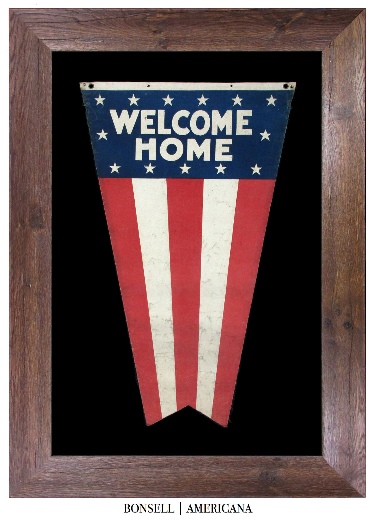 Antique WWII Welcome Home Banner