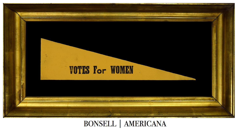 Antique Votes for Women Pennant