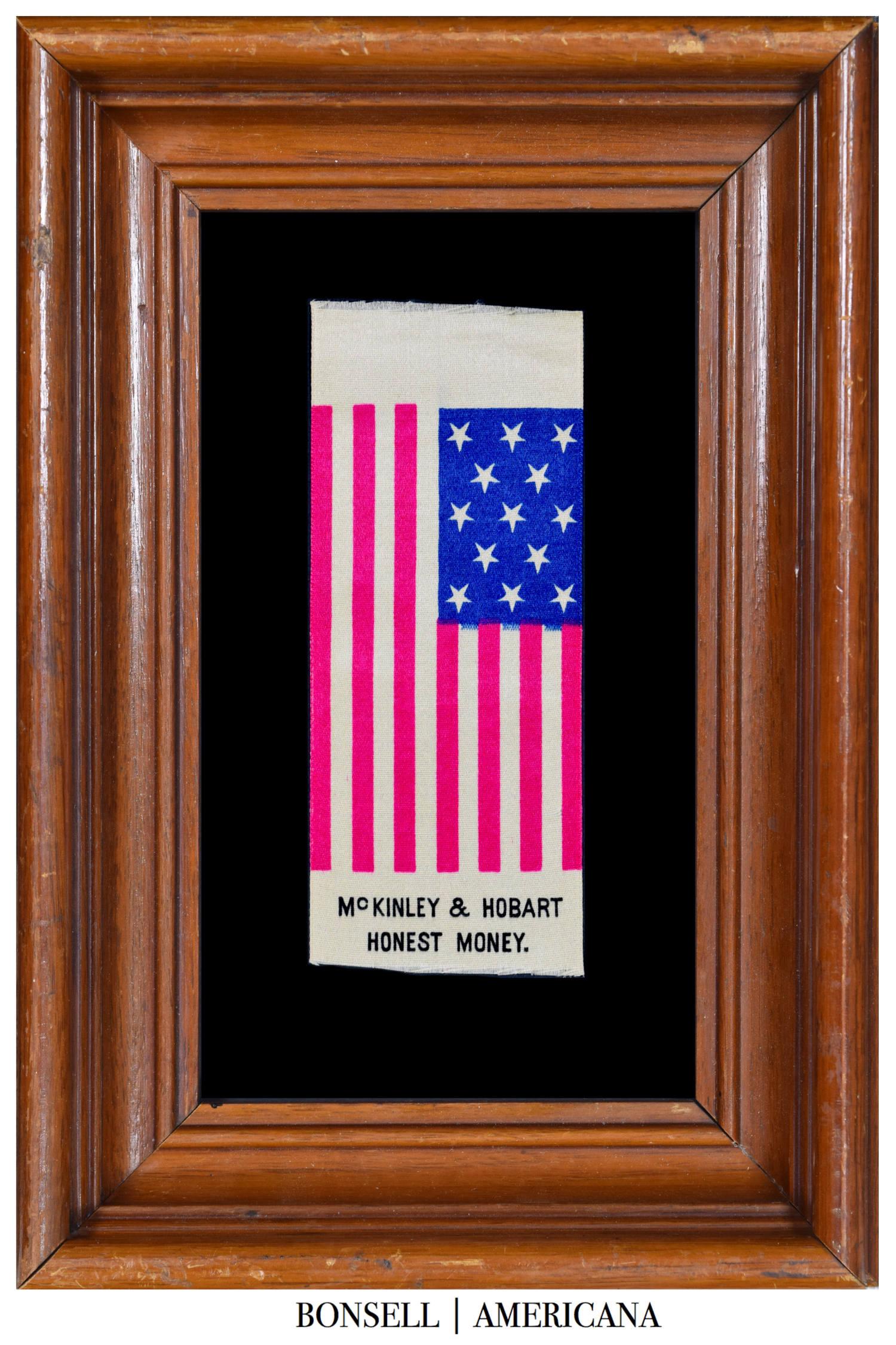 McKinley & Hobert Honest Money Flag Ribbon