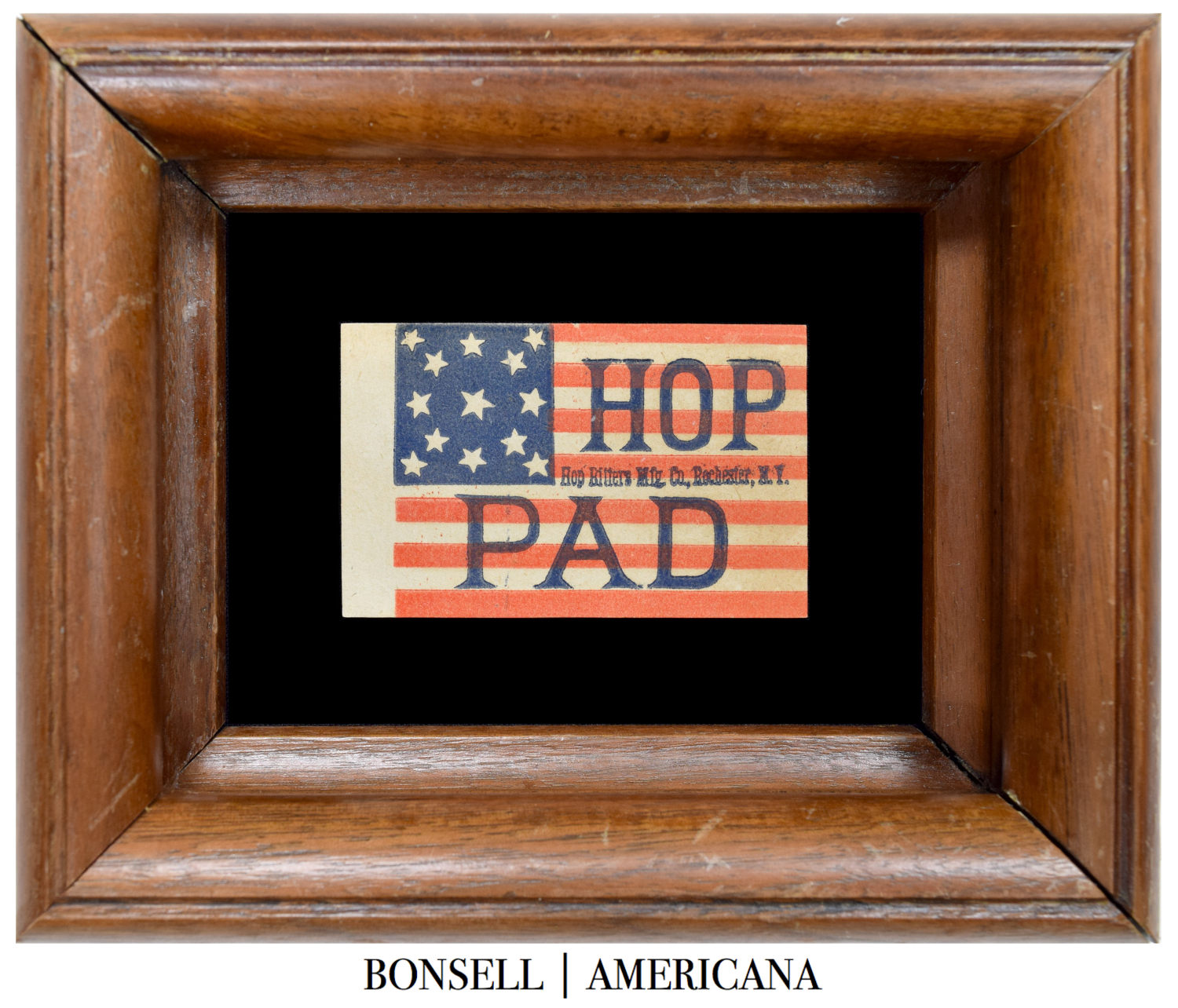 Antique Hop Bitters Flag
