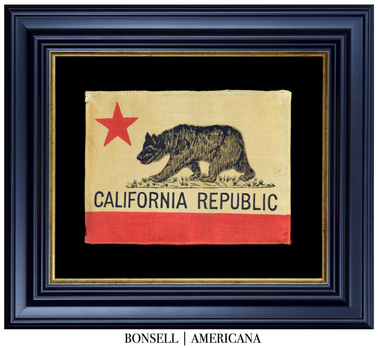 Antique California Flag