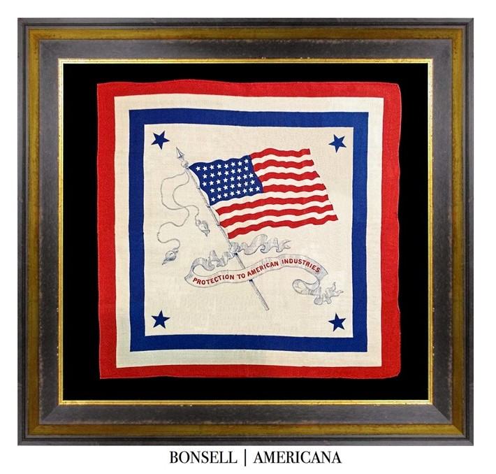 Antique Protection to American Industries Kerchief